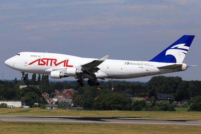 Astral Aviation (Air Atlanta Icelandic)  Boeing 747-4F6(BDSF) TF-AMM