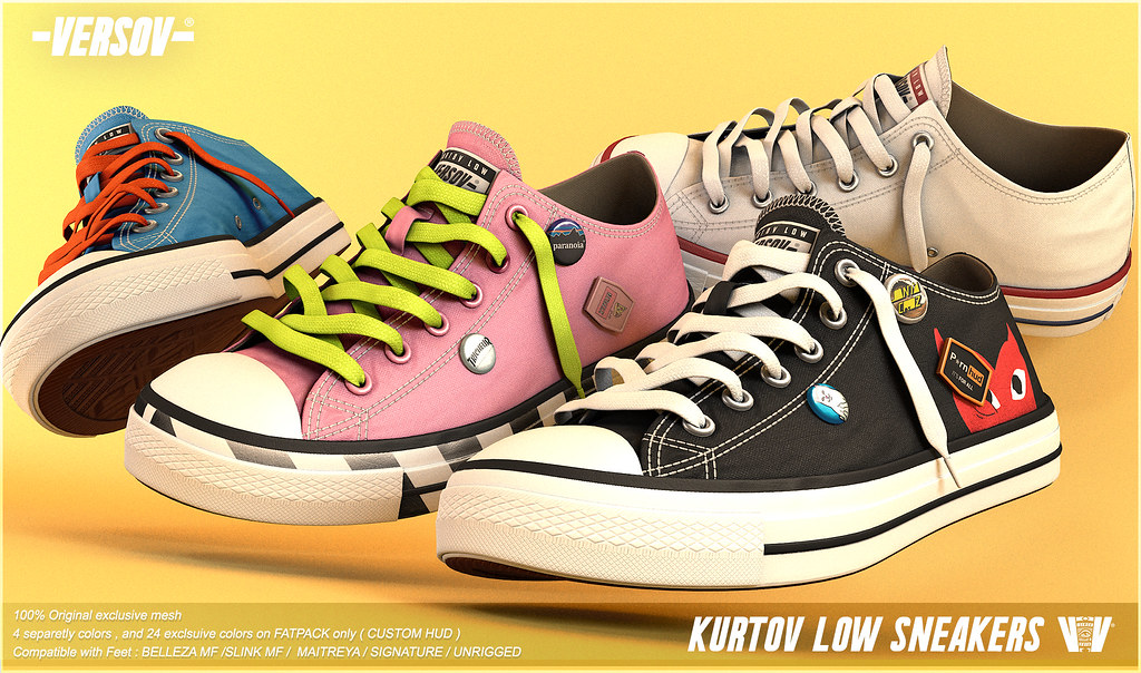 [ Versov // ] KURTOV_LOW sneakers available at TMD
