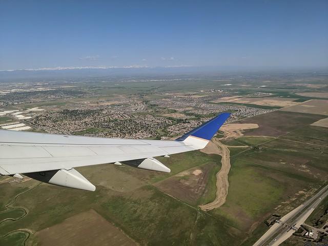Taking Off From Denver