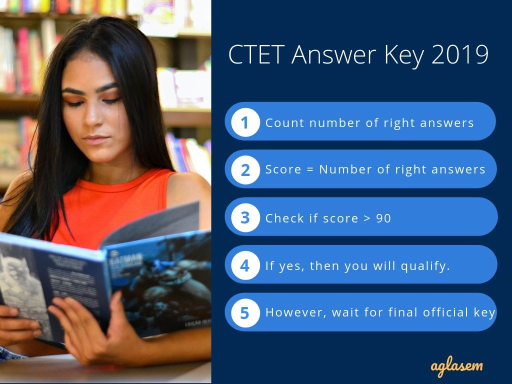 CTET Answer Key 2019 Paper 1 Set P