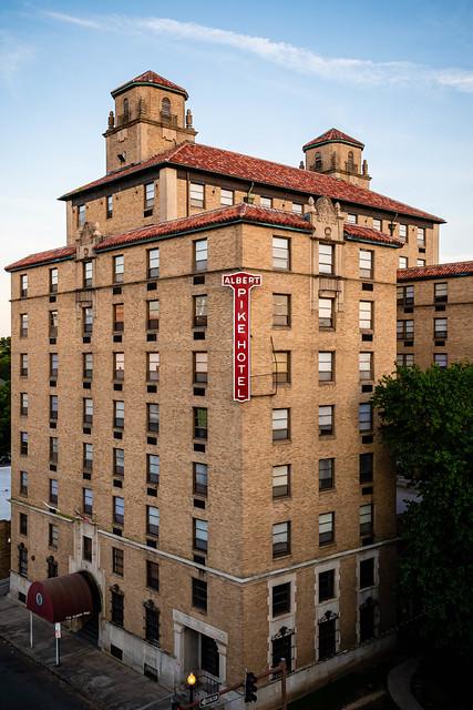 Albert Pike Hotel. Little Rock. 2019.
