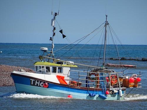 FV SEA SPRAY TH61 - Fishing Vessel (MMSI: 235028301) Call Sign MNGG9