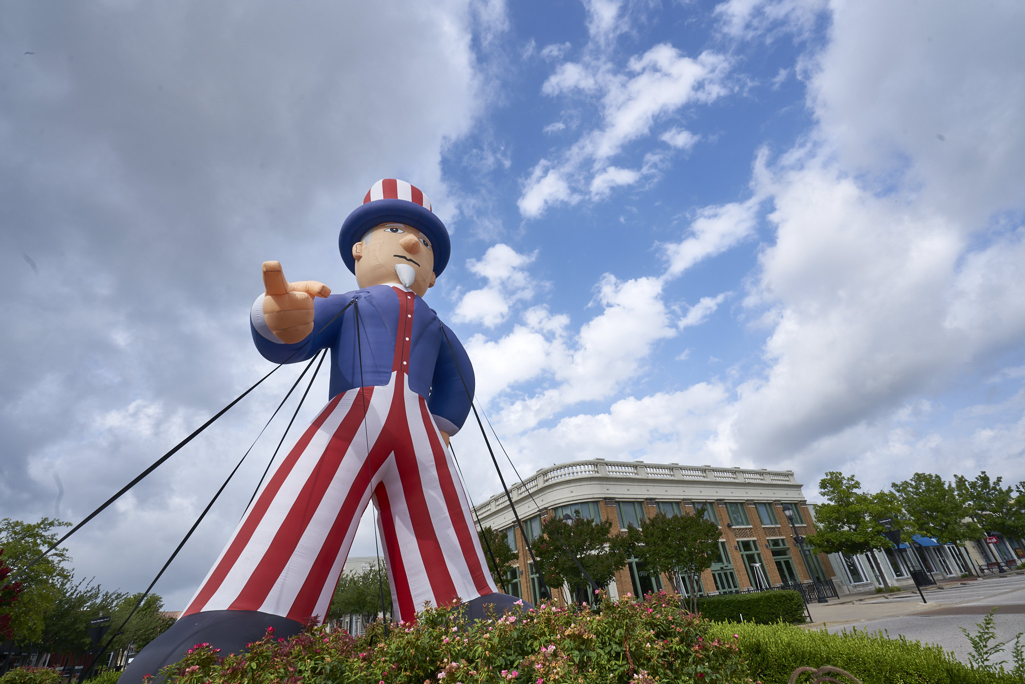 Uncle Sam at the Mall