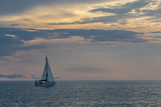 Sailing on a Summer Evening