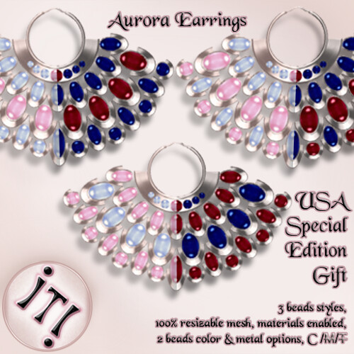 !IT! - Aurora Earrings USA SE Gift Image