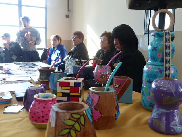 Gran participación de la comunidad en la primera Feria Cultural Medianito Invernal (4)