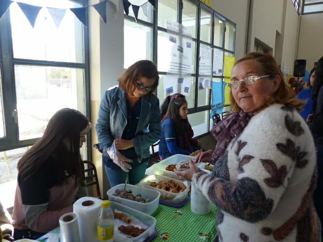 Gran participación de la comunidad en la primera Feria Cultural Medianito Invernal (17)