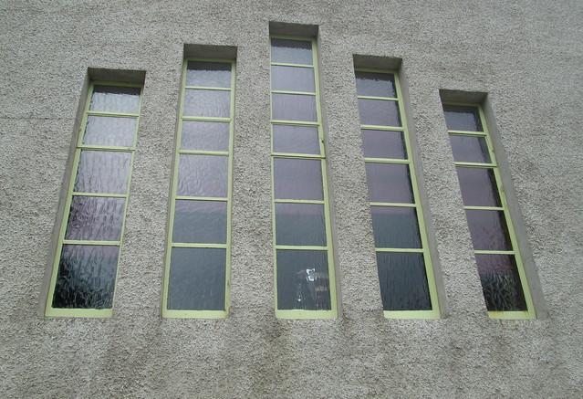 Window, Carron Restaurant, Stonehaven