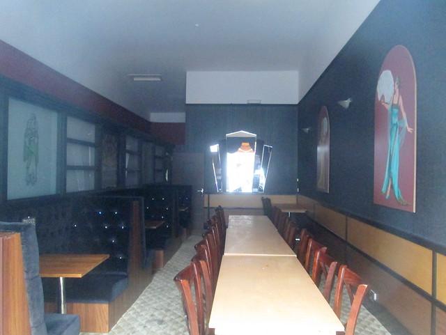 Art Deco Interior, Carron Restaurant, Stonehaven