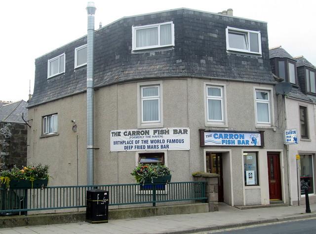 The Carron Fish Bar, Stonehaven