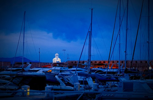 Harbor Antibes, France