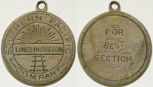 Southern Pacific Railroad Medal