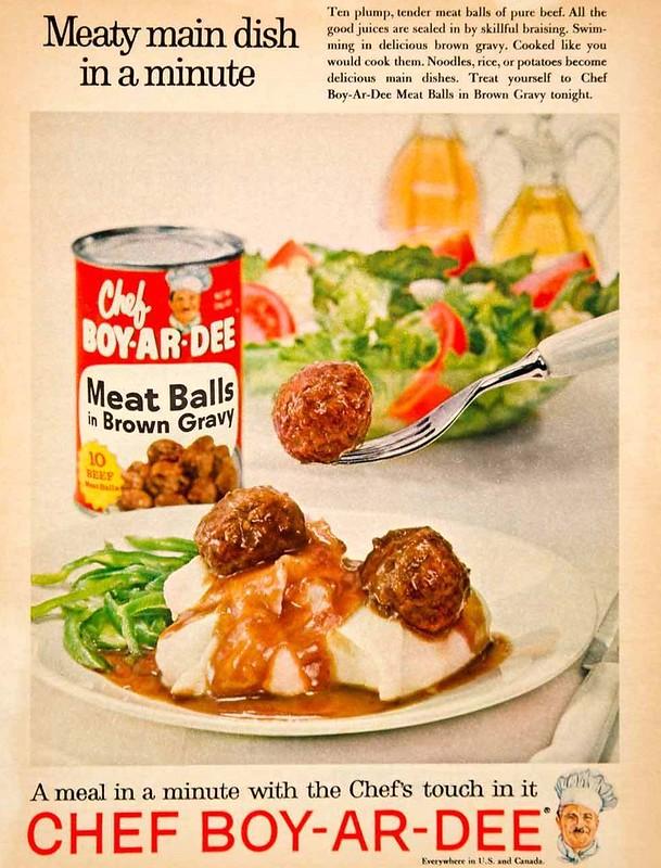 Chef Boy-Ar-Dee 1961