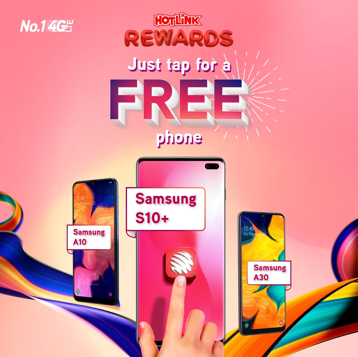 Hotlink Rewards - Free Phones Every Day