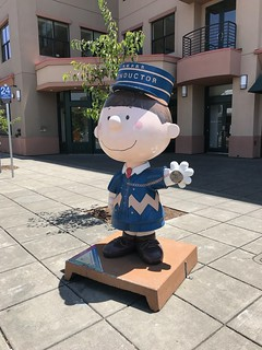 Santa Rosa Peanuts characters