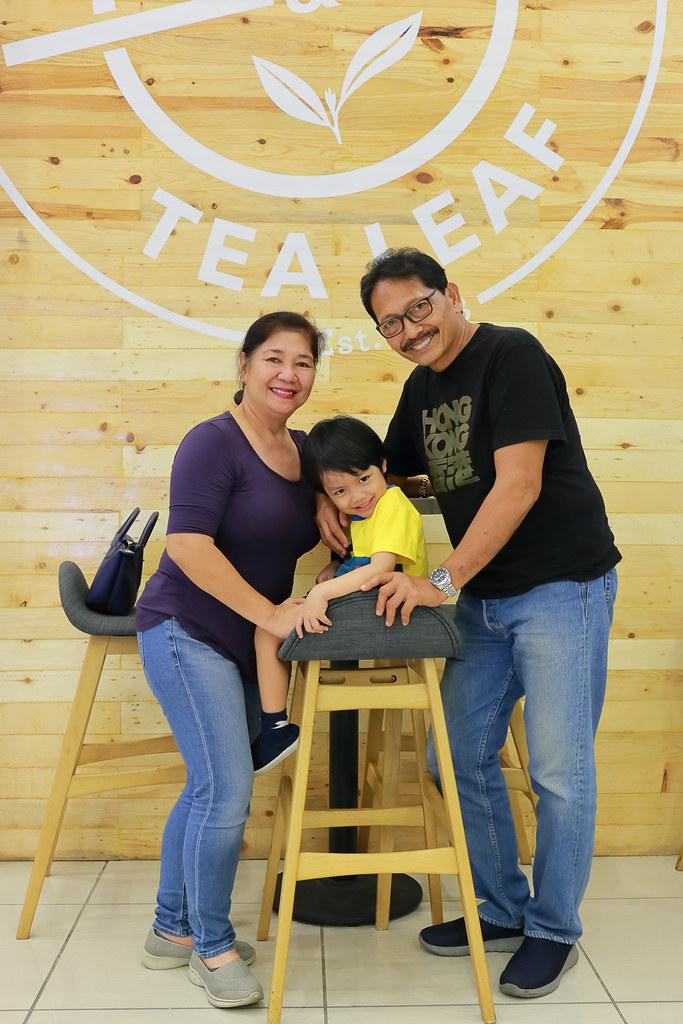 Mama, Bryce, and Papa