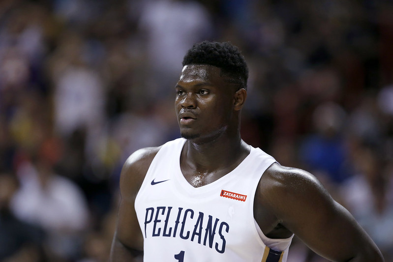 Zion Williamson。(達志影像資料照)