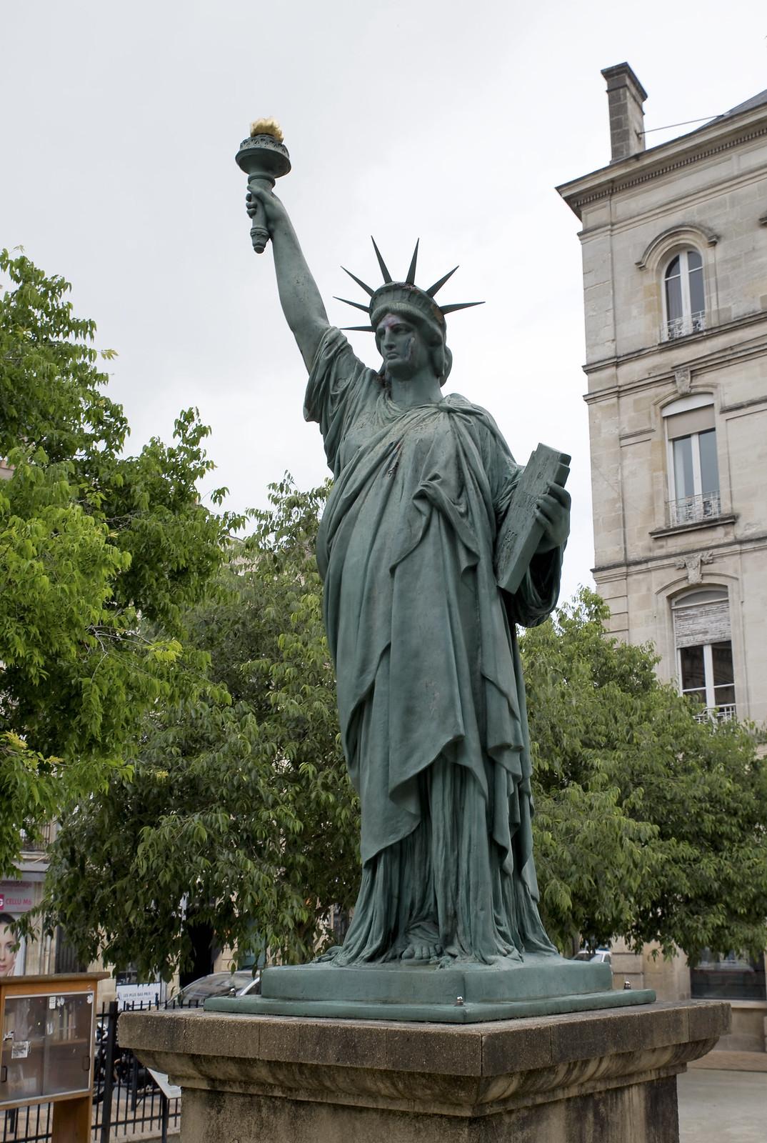 Bordeaux Statue of Liberty