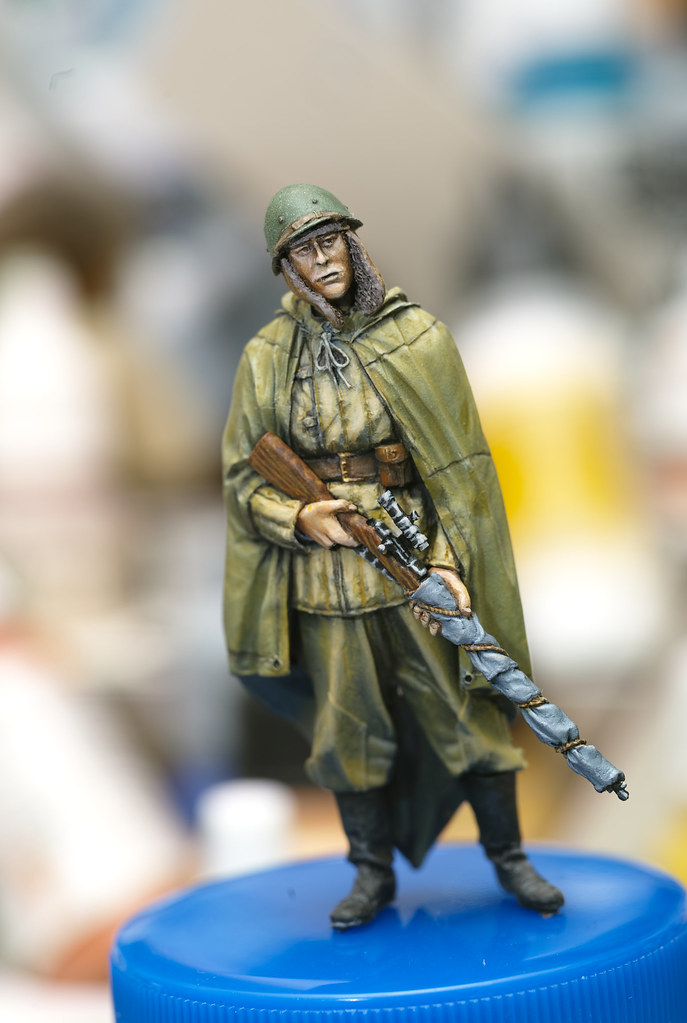 CMK 1/35 Russian WW II Sniper Ace