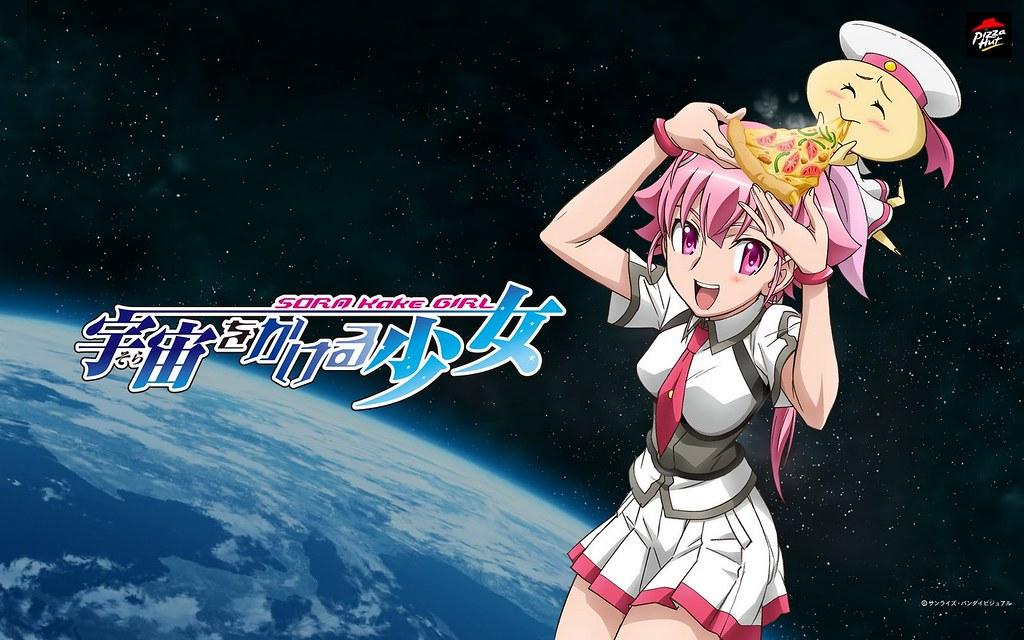 080925 - 動畫公司SUNRISE全新企劃作品《宇宙をかける少女》官方網站開張,完整情報將於10/10隆重揭曉!
