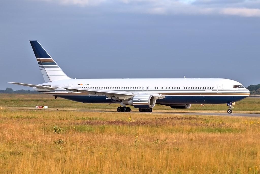 Boeing 767-35D(ER) - EC-LZO - HAJ - 07.07.2019