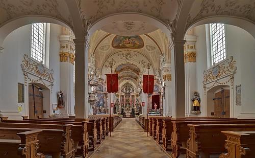 Schiessen, kath. Pfarr- und Wallfahrtskirche Mariä Geburt
