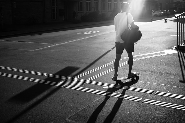 evening skater