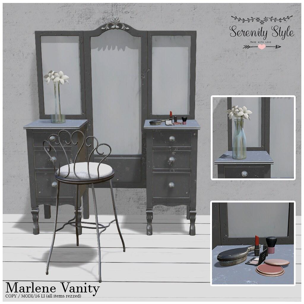 Serenity Style- Marlene Vanity
