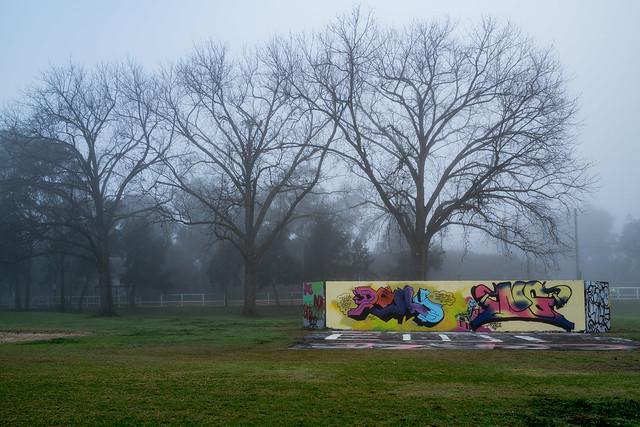 ...a foggy morning...