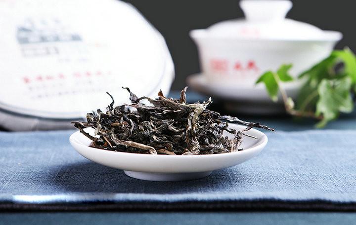 """2019 ShuangJiang MengKu """"Ji ShaoShu-Teng Tiao Wang"""" (Rare Tree- King Cane) Cake 200g Puerh Raw Tea Sheng Cha"""