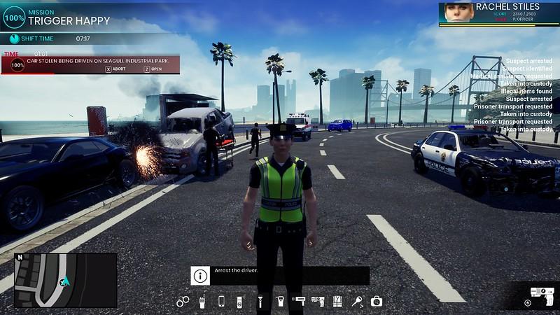 경찰 시뮬레이터 순찰 의무 - 카오스