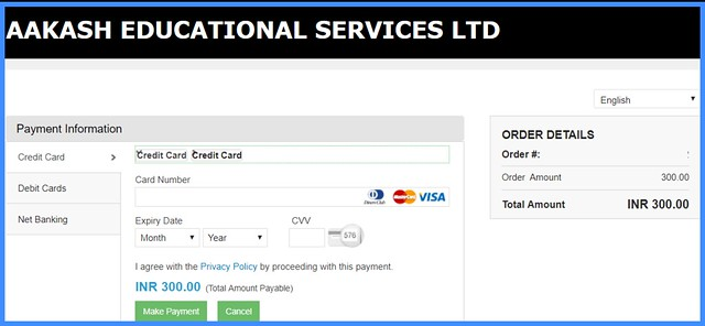 ANTHE Registration - Payment of Fee