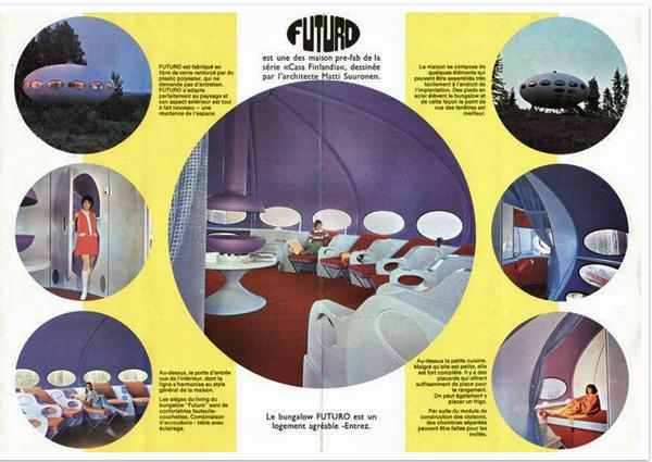 Futuro house brochure