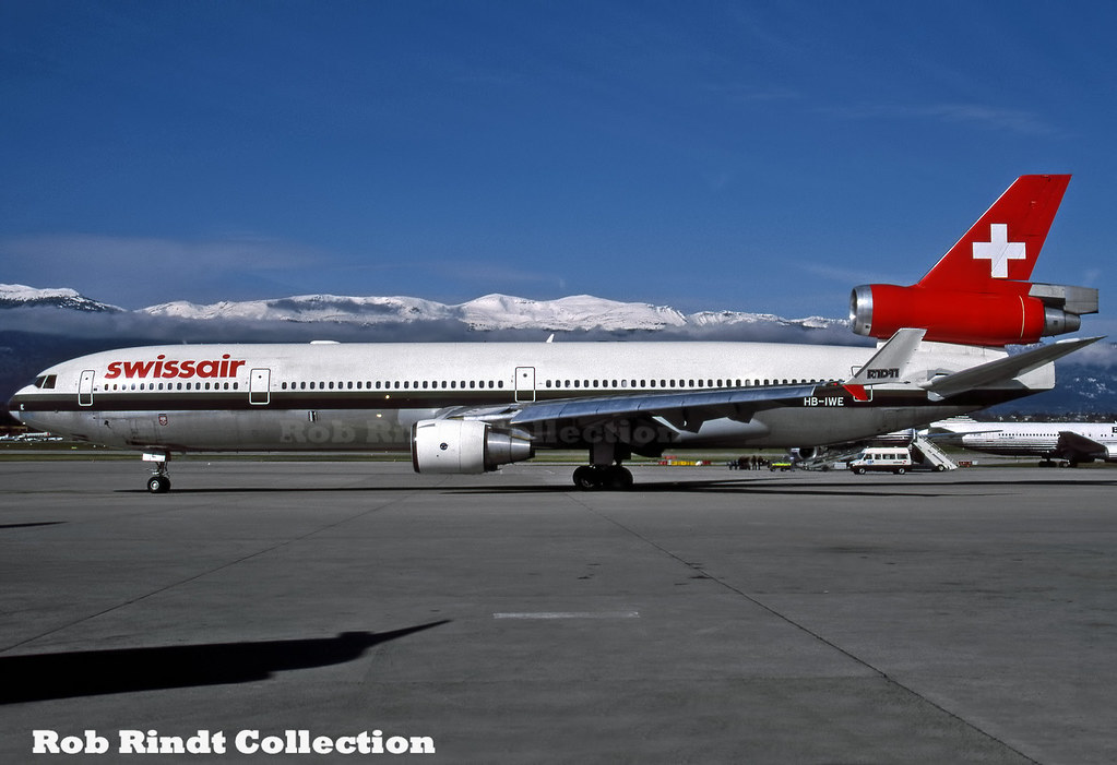 Swissair MD-11 HB-IWE