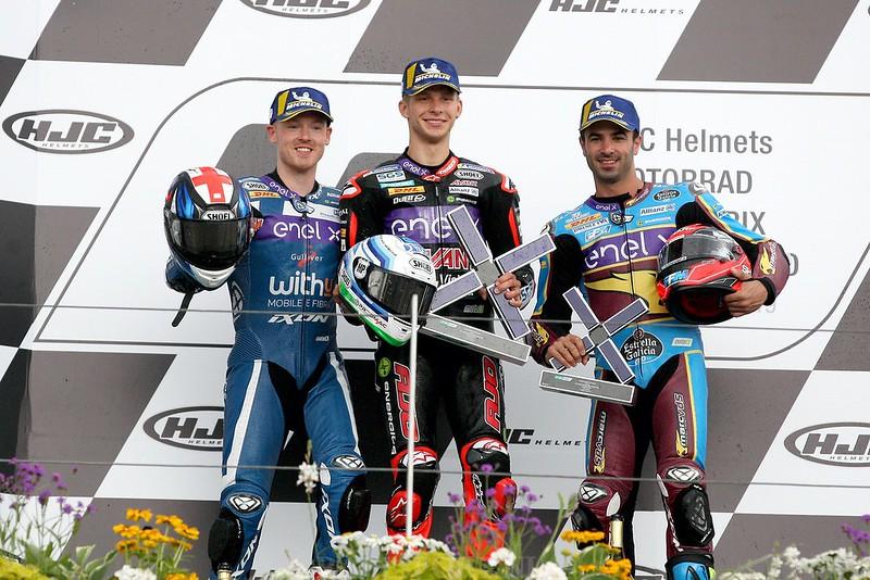 MotoE podium
