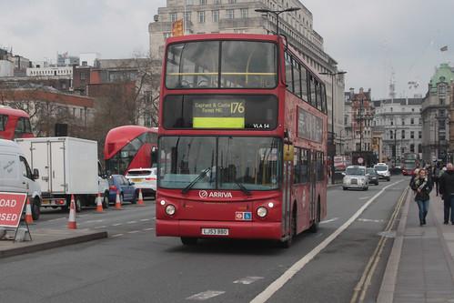 Arriva London VLA54 LJ53BBO