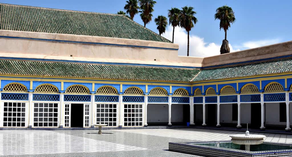 Bezienswaardigheden Marrakech: Palais Bahia | Mooistestedentrips.nl