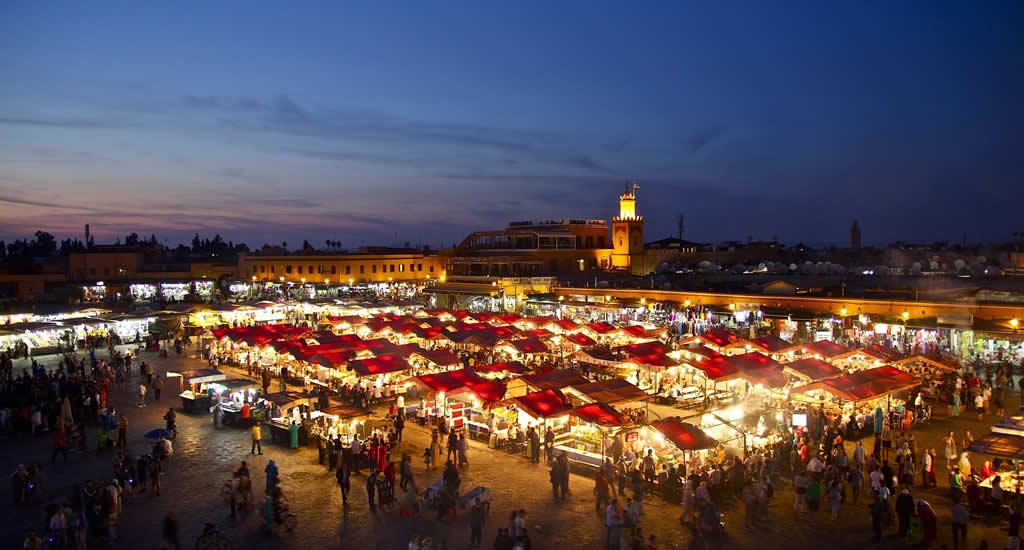 Doen in Marrakech: eten op het Djeema el Fna