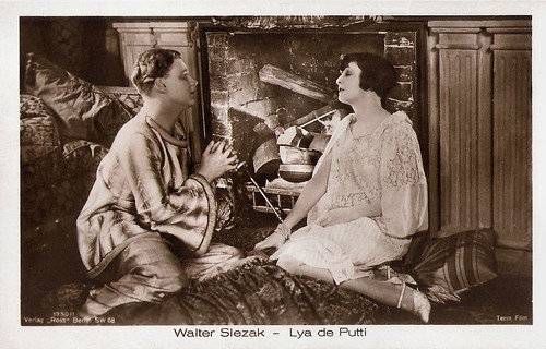 Walter Slezak and Lya de Putti in Junges Blut (1926)