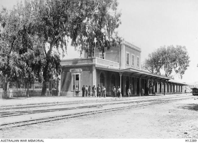 Jaffa-RW-station-1917-awm-H12289