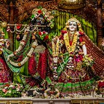 ISKCON Mayapur Deity Darshan 07 July 2019