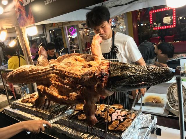 crocodile BBQ