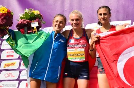 Bára Havlíčková vrchařskou mistryní Evropy v kategorii U20