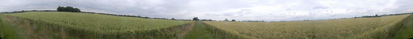 360 deg wheatfield Sawbridgeworth to Bishops Stortford