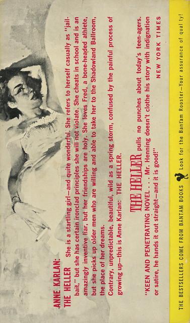 Bantam Books A1708 - William E. Henning - The Heller (back)