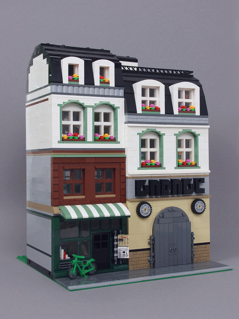 Update: Mom & Pop Store and Garage (custom built Lego model)