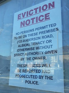 Eviction Notice Original | by David Jackmanson