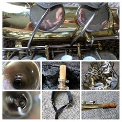 CLMOOC Saxophone Feldgang