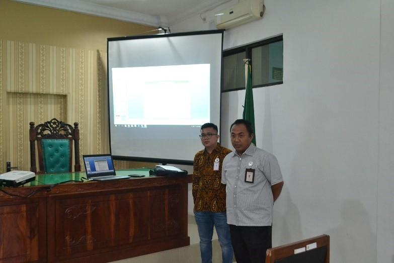 Tim BNI Syariah Mengadakan Sosialisasi di PA Simalungun   (19/8)