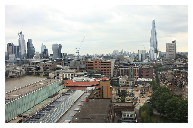 From The Top Of Tate Modern London